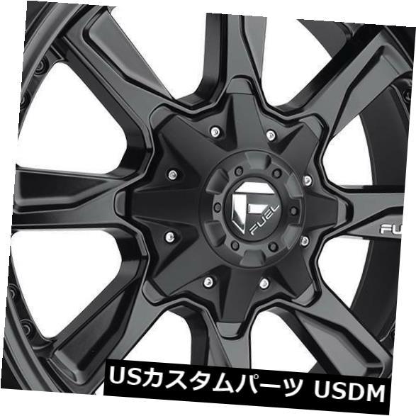激安特価  海外輸入ホイール 20x9マットブラックホイールフューエルハイドロD604 8x180 20(4個セット) 20x9 Matte of Black 20 Wheels Fuel (Set Hydro D604 8x180 20 (Set of 4), キタハタムラ:6371dc5e --- experiencesar.com.ar