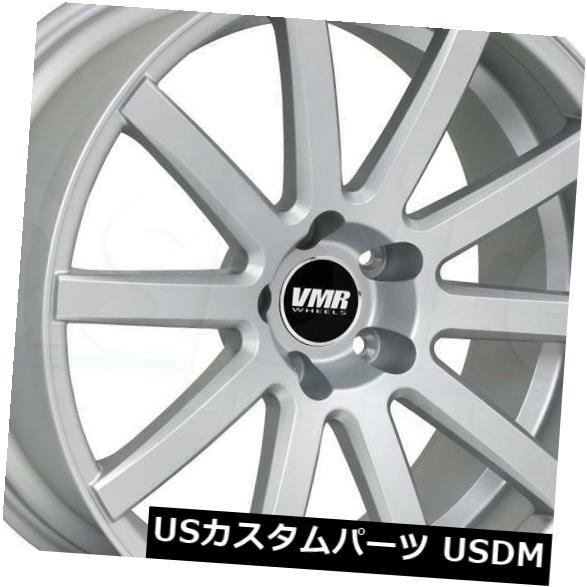 開店祝い 海外輸入ホイール 18x9.5 Hyper Silver Wheels VMR V702 5x114.3 33(4個セット) 18x9.5 Hyper Silver Wheels VMR V702 5x114.3 33 (Set of 4), ソレイユ 0f1a5d5c