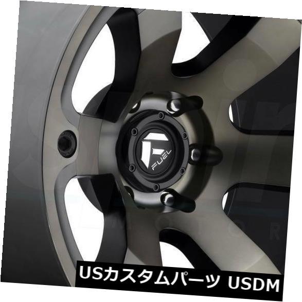 海外輸入ホイール 18x9ブラックマシニングホイールズフューエルビーストD564 5x150 1(4個セット) 18x9 Black Machined Wheels Fuel Beast D564 5x150 1 (Set of 4)