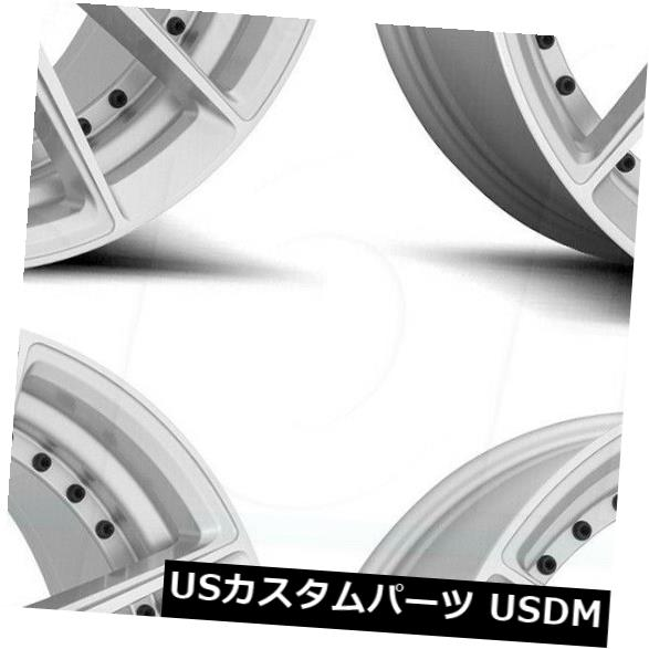 <title>車用品 バイク用品 >> タイヤ ホイール 海外輸入ホイール 20x9シルバーホイールニッチDFS M221 5x114.3 35 4個セット 20x9 お見舞い Silver Wheels Niche DFS Set of 4</title>