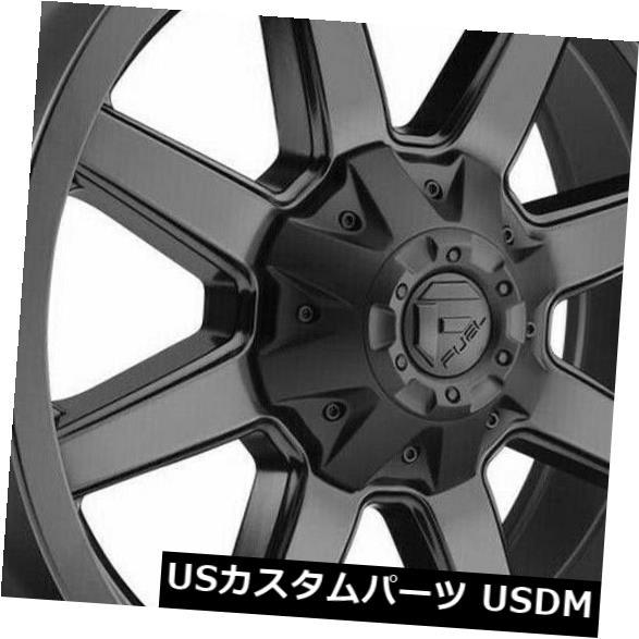 <title>車用品 バイク用品 >> タイヤ ホイール 海外輸入ホイール 20x10マットブラックホイールフューエルマーベリックD436 8x170 贈与 -18 4個セット 20x10 Matte Black Wheels Fuel Maverick D436 Set of 4</title>