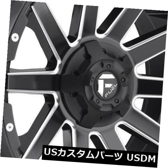 <title>車用品 バイク用品 >> タイヤ ホイール セール特価 海外輸入ホイール 20x9マットブラックミルドホイールフューエルコントラD616 8x170 20 4個セット 20x9 Matte Black Milled Wheels Fuel Contra D616 Set of 4</title>