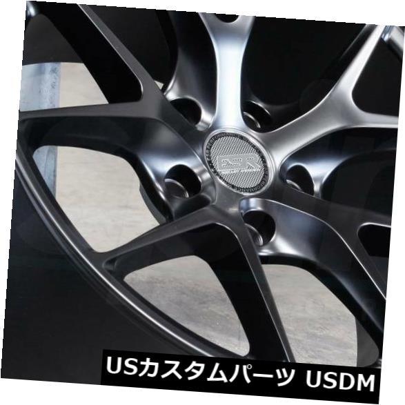 海外輸入ホイール 19x8.5 / 19x9.5マットブラックホイールESR RF02 RF2 5x120 30/22(4個セット) 19x8.5/19x9.5 Matte Black Wheels ESR RF02 RF2 5x120 30/22 (Set of 4)