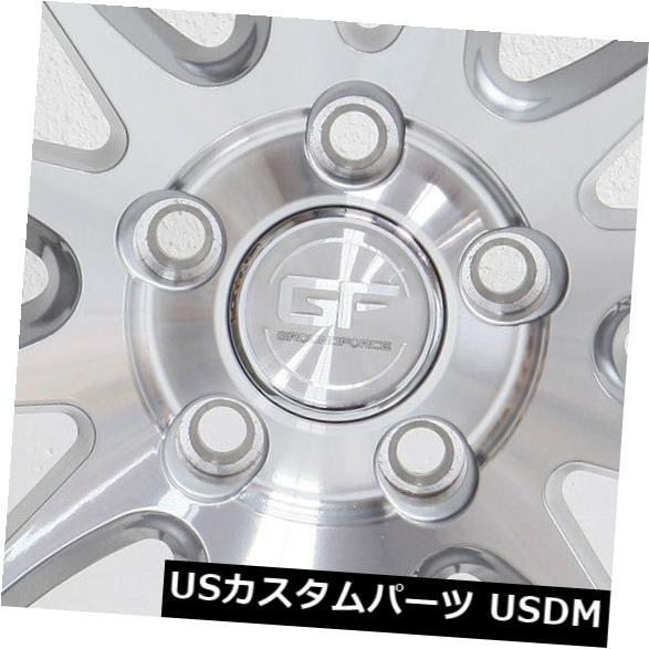 海外輸入ホイール 19x8.5 / 19x10.5シルバーホイールMRR GF6 5x120 12/15(4個セット) 19x8.5/19x10.5 Silver Wheels MRR GF6 5x120 12/15 (Set of 4)