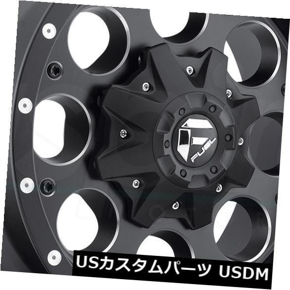 <title>車用品 休日 バイク用品 >> タイヤ ホイール 海外輸入ホイール 20x9 Black Milled Wheels Fuel Revolver D525 6x135 6x5.5 1 4個セット Set of 4</title>