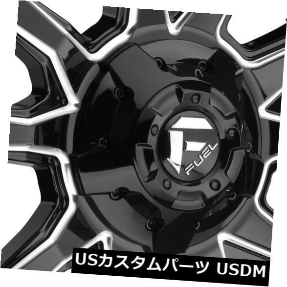 車用品 バイク用品 >> タイヤ ホイール 海外輸入ホイール 20x9ブラックミルドホイールフューエルバンダルD627 6x135 6x5.5 1 4個セット Fuel Set 新作 人気 2020春夏新作 of 4 Vandal Black Milled D627 Wheels 20x9