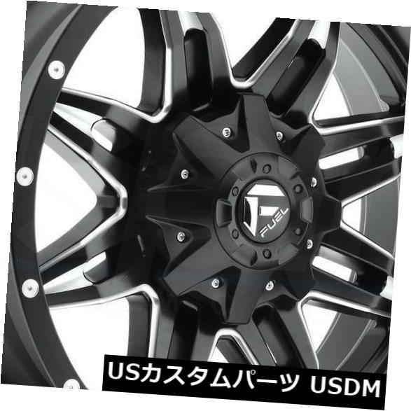 <title>車用品 バイク用品 >> タイヤ ホイール 海外輸入ホイール 20x9ブラックミルドホイールフューエルリーサルD567 8x180 1 4個セット 20x9 Black Milled Wheels Fuel Lethal D567 Set of 日本メーカー新品 4</title>