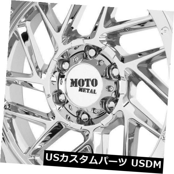 直送商品 海外輸入ホイール 20x10クロームホイールMoto Metal MO985 Breakout 8x170 -18(4個セット) 20x10 Chrome Wheels Moto Metal MO985 Breakout 8x170 -18 (Set of 4), 雑貨カンカン 72733292