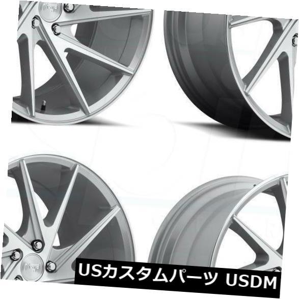 <title>車用品 バイク用品 >> タイヤ ホイール 海外輸入ホイール 20x9シルバー加工ホイールNiche Invert M162 5x120 35 4個セット 20x9 Silver Machined Wheels Niche Set 特価 of 4</title>