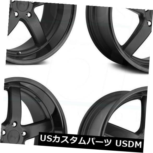 <title>車用品 バイク用品 >> タイヤ ホイール 海外輸入ホイール 20x8.5マットブラックホイールNiche 宅配便送料無料 Pantano M173 5x114.3 35 4個セット 20x8.5 Matte Black Wheels Niche Set of 4</title>