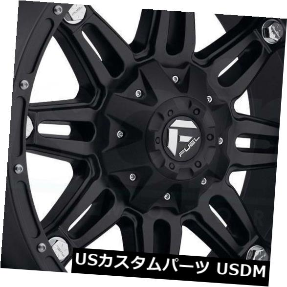 車用品 バイク用品 >> タイヤ ホイール 海外輸入ホイール 20x10マットブラックホイールフューエル人質D531 8x170 -18 お中元 4個セット D531 注目ブランド Set Matte 20x10 Fuel Black of Wheels Hostage 4