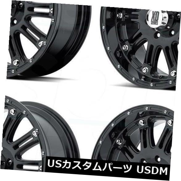人気カラーの 海外輸入ホイール 18x9グロスブラックホイールXD XD795ホス6x5.5 XD795 Gloss/ 6x139.7 -12(4個セット) Black 18x9 Gloss Black Wheels XD XD795 Hoss 6x5.5/6x139.7 -12 (Set of 4), IKKGS:b19a884a --- arg-serv.ru