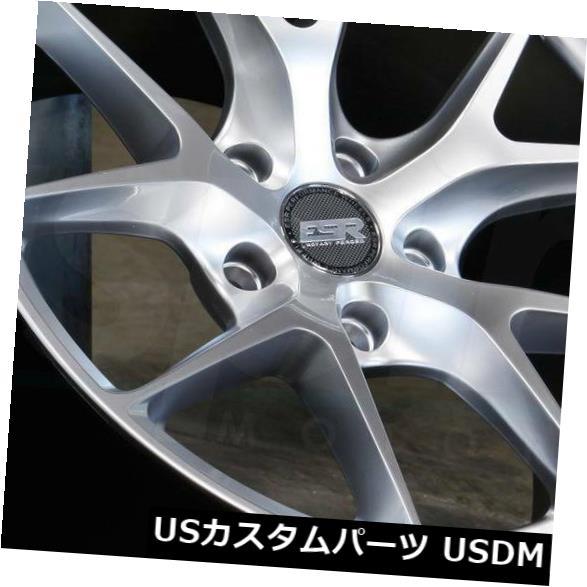 <title>車用品 バイク用品 >> タイヤ ホイール 海外輸入ホイール 19x9.5 Hyper セール特価 Silver Wheels ESR RF02 RF2 5x114.3 35 4個セット Set of 4</title>