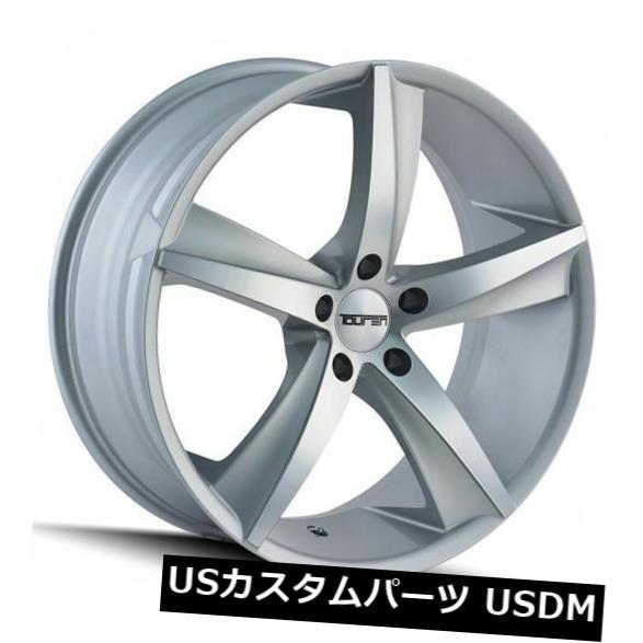 2021春の新作 海外輸入ホイール 20x10グロスシルバー加工ホイールTouren TR72 5x120 20(4個セット) of 20x10 Gloss 20 Silver Machined TR72 Wheels Touren TR72 5x120 20 (Set of 4), Clapper:133f12f6 --- ecommercesite.xyz