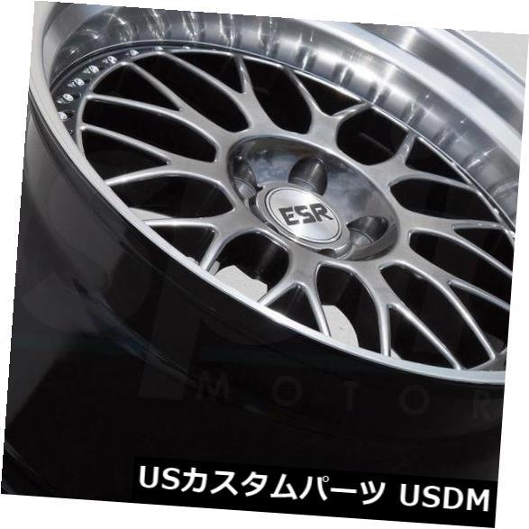 『2年保証』 海外輸入ホイール of 19x9.5ガンメタルホイールESR SR01 SR1 5x120 4) 35(4個セット) 19x9.5 Gun Metal ESR Wheels ESR SR01 SR1 5x120 35 (Set of 4), レザークラフトマリボックス:0752a481 --- avpwingsandwheels.com