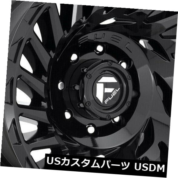 <title>車用品 バイク用品 >> タイヤ ホイール 海外輸入ホイール 20x10 Black Wheels Fuel Cyclone D682 8x6.5 8x165.1 -18 4個セット Set 上等 of 4</title>