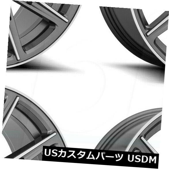車用品 バイク用品 >> タイヤ ホイール 海外輸入ホイール 20x9 20x10.5 Gun Metal Wheels 最新号掲載アイテム 5x114.3 4 35 商い M220 4個セット 40 of Niche Set Gemello
