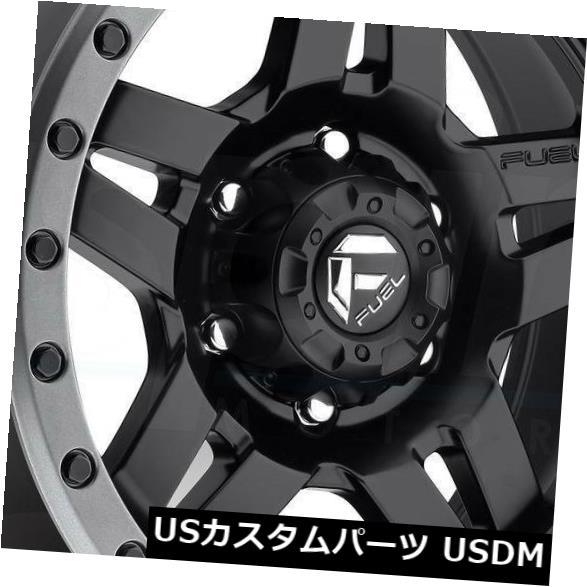 車用品 バイク用品 >> タイヤ ホイール 海外輸入ホイール 20x9マットブラックホイールフューエルアンザD557 8x6.5 8x165.1 1 4個セット ギフト Wheels 4 of Black D557 Anza Matte Fuel セール商品 Set 20x9