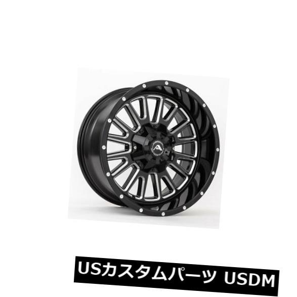 おすすめネット 海外輸入ホイール 20x12ブラックミルドホイールアメリカンオフロードA105 6x135 Wheels -44(4個セット) 20x12 4) Black Milled 6x135 Wheels American Off-Road A105 6x135 -44 (Set of 4), ギナンチョウ:430f98d7 --- medsdots.com