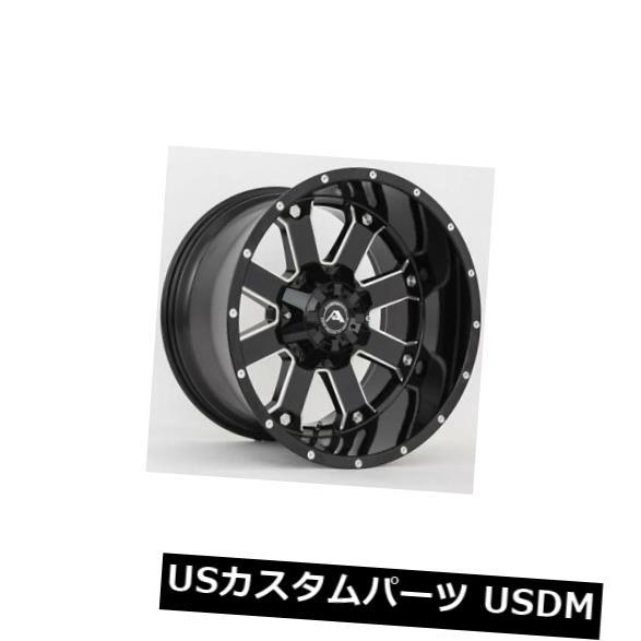 安価 海外輸入ホイール 6x135 20x12ブラックミルドホイールアメリカンオフロードA108 6x135 -44(4個セット) Milled 20x12 Black Milled Wheels 4) American Off-Road A108 6x135 -44 (Set of 4), あおば堂:083dc4ee --- medsdots.com