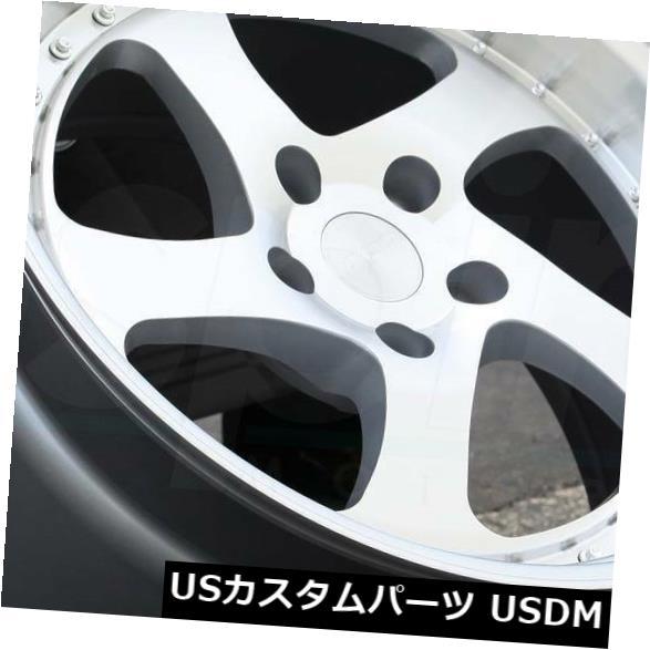 【最新入荷】 海外輸入ホイール (Set SR2 19x10.5機械加工シルバーホイールESR SR02 SR2 5x114.3 22(4個セット) 19x10.5 Machined Silver Silver Wheels ESR SR02 SR2 5x114.3 22 (Set of 4), 楽器通販KG-NET:ae2b52b1 --- rednuncamais.online