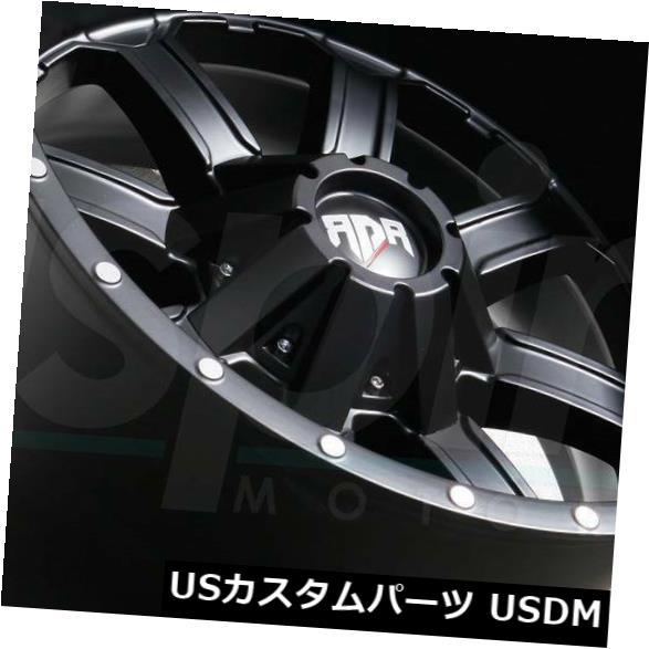 ★お求めやすく価格改定★ 海外輸入ホイール 20x12ブラックホイールRDR RD01 RD1 5x5/ 5x5.5 5x5/ RD1 4) 5x13 9.7 -44(4個セット) 20x12 Black Wheels RDR RD01 RD1 5x5/5x5.5/5x139.7 -44 (Set of 4), 北海道グルメマート:920ab339 --- lms.imergex.tech
