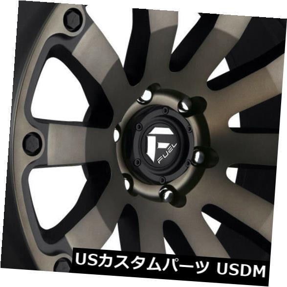 <title>車用品 バイク用品 >> タイヤ ホイール お買い得品 海外輸入ホイール 20x9ブラックティントホイールフューエルディーゼルD636 6x135 20 4個セット 20x9 Black Tint Wheels Fuel Diesel D636 Set of 4</title>