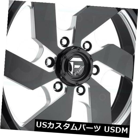 <title>車用品 バイク用品 >> タイヤ ホイール 海外輸入ホイール 20x9ブラックミルドホイールフューエルターボD582 8x6.5 8x165.1 1 4個セット 20x9 Black Milled Wheels Fuel Turbo D582 Set of 限定品 4</title>