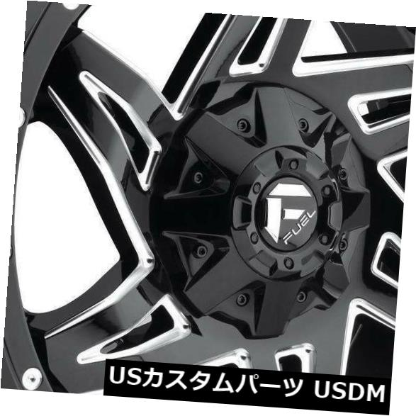 <title>車用品 バイク用品 >> タイヤ ホイール 海外輸入ホイール 20x9ブラックミルドホイールフューエルロッカーD613 8x6.5 8x165.1 1 4個セット 20x9 Black Milled Wheels 推奨 Fuel Rocker D613 Set of 4</title>