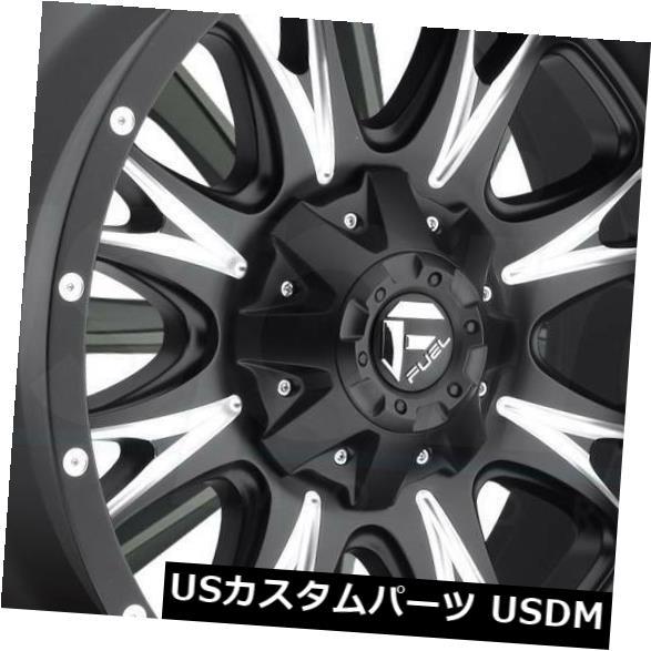 <title>車用品 バイク用品 >> タイヤ ホイール 海外輸入ホイール 20x9ブラックミルドホイールフューエルスロットルD513 8x6.5 8x165.1 1 4個セット 20x9 Black Milled Wheels Fuel Throttle ブランド買うならブランドオフ D513 Set of 4</title>
