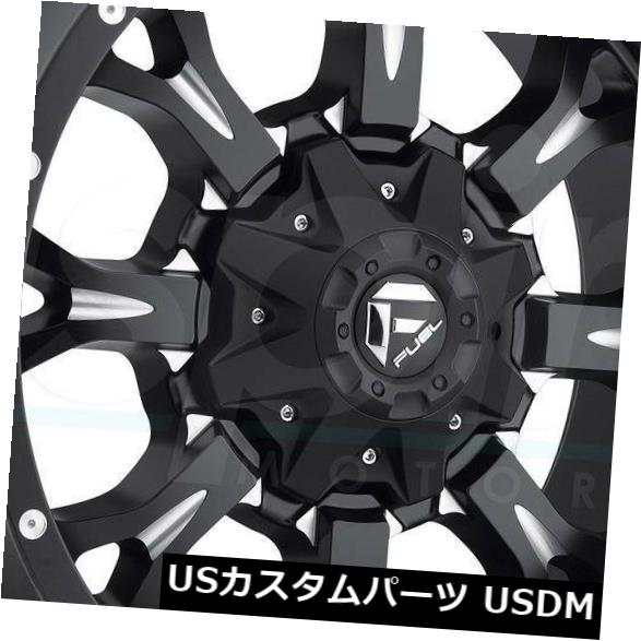<title>車用品 バイク用品 >> タイヤ お得セット ホイール 海外輸入ホイール 20x9ブラックミルドホイールフューエルクランクD517 5x5.5 5x150 1 4個セット 20x9 Black Milled Wheels Fuel Krank D517 Set of 4</title>