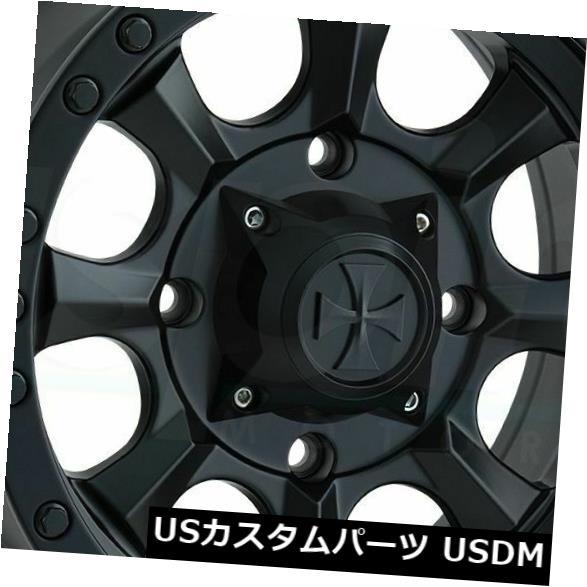 上品なスタイル 海外輸入ホイール Matte 18x9マットブラックホイールダーティライフアイアンマン8x6.5/ Dirty 8x165.1 Ironman 0(4個セット) 18x9 Matte Black Wheels Dirty Life Ironman 8x6.5/8x165.1 0 (Set of 4), モダンファニチャー nuqmo:77e22a1b --- ecommercesite.xyz