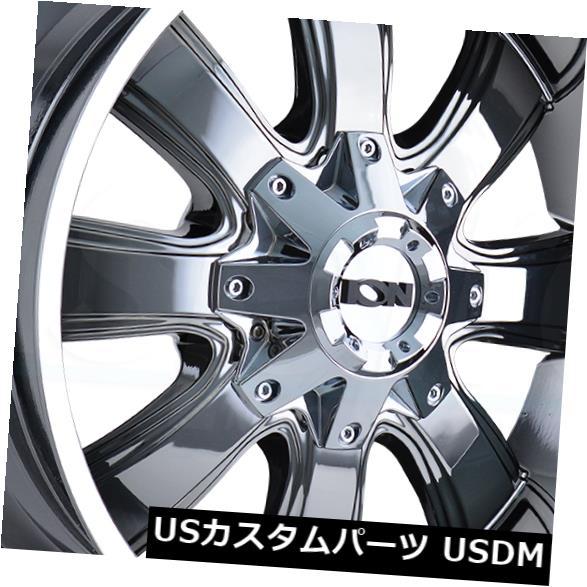 海外輸入ホイール 20x9 PVDホイールイオン189 5x5.5 / 5x139.7 18(4個セット) 20x9 PVD Wheels Ion 189 5x5.5/5x139.7 18 (Set of 4)