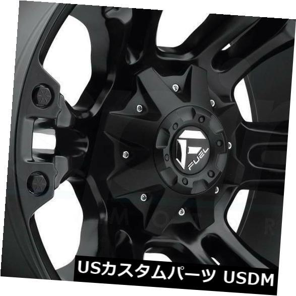 海外輸入ホイール 18x9マットブラックホイールズフューエルベイパーD560 6x135 / 6x5.5 -13(4個セット) 18x9 Matte Black Wheels Fuel Vapor D560 6x135/6x5.5 -13 (Set of 4)