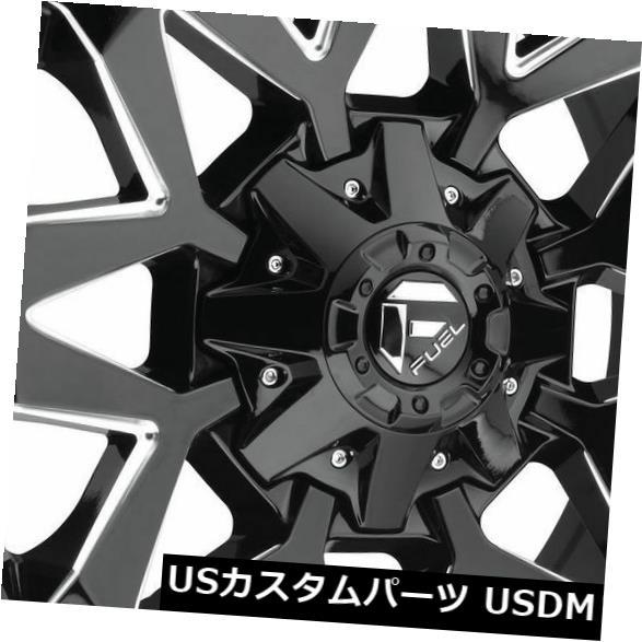 車用品 バイク用品 >> 上質 タイヤ ホイール 海外輸入ホイール 20x9ブラックミルドホイールフューエルアンブッシュD555 5x5.5 5x150 1 4個セット Fuel 20x9 D555 Set of Black Ambush Milled 4 Wheels ※アウトレット品