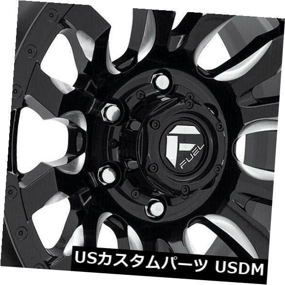 <title>車用品 バイク用品 >> タイヤ ホイール 海外輸入ホイール 20x9ブラックミルドホイールフューエルブリッツD673 5x150 20 4個セット 最新号掲載アイテム 20x9 Black Milled Wheels Fuel Blitz D673 Set of 4</title>
