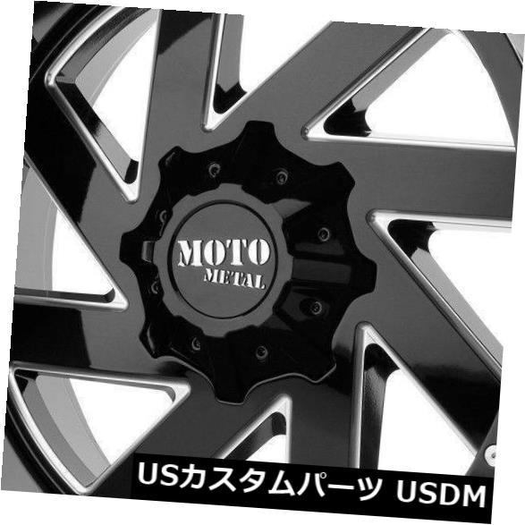 最高級のスーパー 海外輸入ホイール 海外輸入ホイール 20x10ブラックミルドホイールモトメタルMO988近接8x170 (Set -18(4個セット) 20x10 Black 4) Milled Wheels Moto Metal MO988 Melee 8x170 -18 (Set of 4), 仏壇仏具墓石 メイスンキタニ:4baa4325 --- asthafoundationtrust.in
