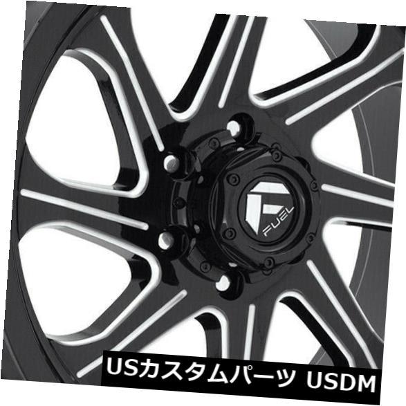 <title>車用品 バイク用品 >> タイヤ ホイール 海外輸入ホイール 20x9ブラックミルドホイールフューエルシーカーD676 5x5 5x127 1 4個セット 20x9 Black Milled Wheels Fuel Seeker D676 Set of 4 送料無料でお届けします</title>
