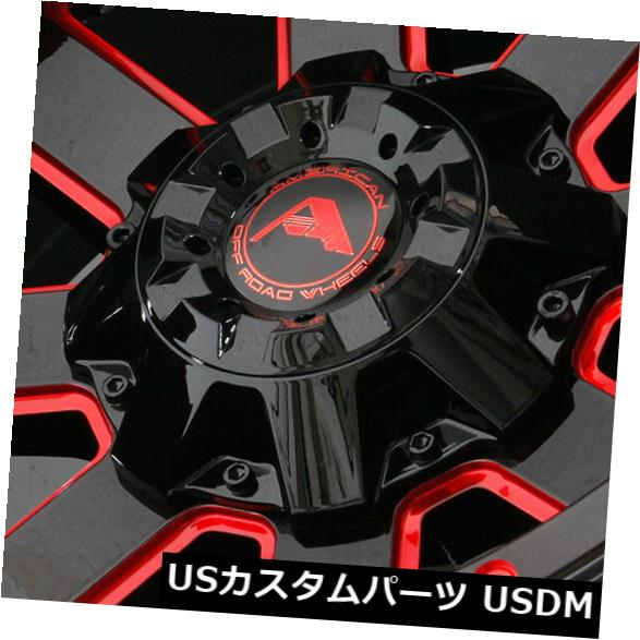 ファッションの 海外輸入ホイール 20x12ブラックミルドレッドホイールアメリカンオフロードA108 8x170 -44(4個セット) (Set 20x12 Black A108 Milled 8x170 Red Wheels American Off-Road A108 8x170 -44 (Set of 4), TIRE SHOP 4U:58f113ca --- asthafoundationtrust.in