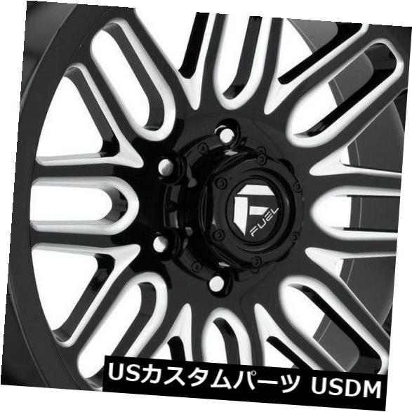 <title>車用品 バイク用品 >> 超激安特価 タイヤ ホイール 海外輸入ホイール 20x9ブラックミルドホイールフューエルイグナイトD662 6x5.5 6x139.7 1 4個セット 20x9 Black Milled Wheels Fuel Ignite D662 Set of 4</title>