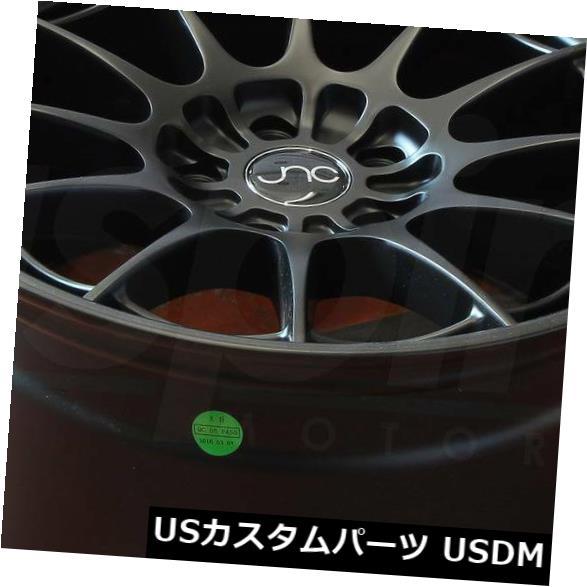 海外輸入ホイール 18x8.5マットブラックホイールJNC 033 JNC033 5x112 35(4個セット) 18x8.5 Matte Black Wheels JNC 033 JNC033 5x112 35 (Set of 4)