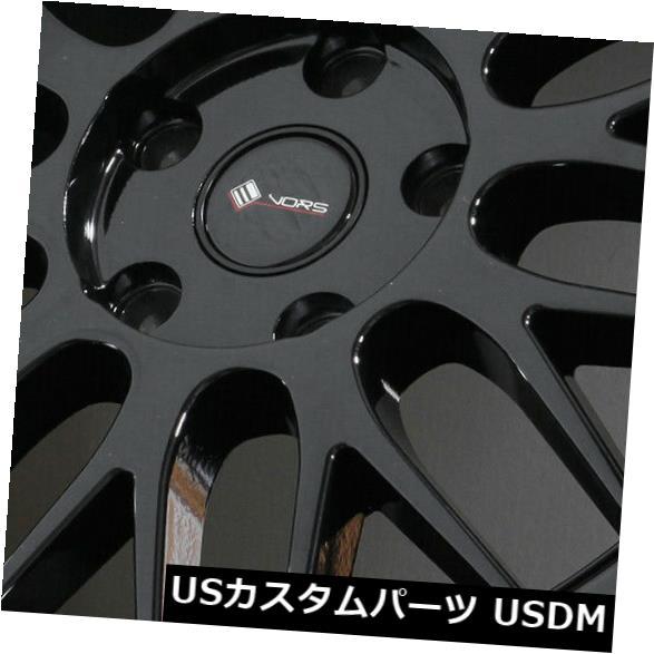 最も  海外輸入ホイール 18x9グロスブラックホイールVors 18x9 VR8 5x115 35(4個セット) (Set 18x9 Gloss Black 4) Wheels Vors VR8 5x115 35 (Set of 4), マンノウチョウ:a44ef7b8 --- statwagering.com