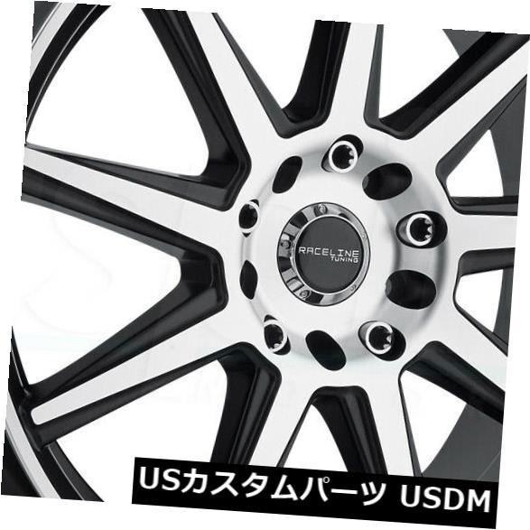 【メーカー再生品】 海外輸入ホイール 16x7マシニングブラックホイールRaceline (Set 144M Storm 5x100 5x100/5x114.3/ 5x114.3 40(4個セット) 5x100 16x7 Machined Black Wheels Raceline 144M Storm 5x100/5x114.3 40 (Set of 4), 原村:d500c491 --- ecommercesite.xyz