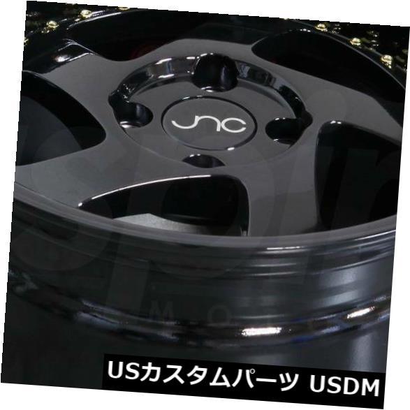【使い勝手の良い】 海外輸入ホイール 15x8グロスブラック 4x100。 4) ホイールJNC 034 JNC034 25 4x100 25(4個セット) 15x8 Gloss Black. Wheels JNC 034 JNC034 4x100 25 (Set of 4), ジョイポート:fd5fd1e8 --- anekdot.xyz
