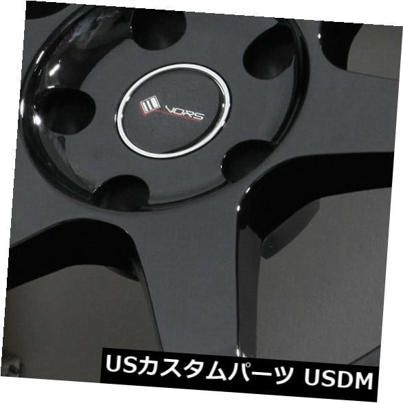 【今日の超目玉】 海外輸入ホイール 5x112 18x8.5ブラックホイールVors TR37 35 5x112 35(4個セット) 18x8.5 Black Wheels Vors TR37 TR37 5x112 35 (Set of 4), PEACESHOP:aab0429b --- verandasvanhout.nl