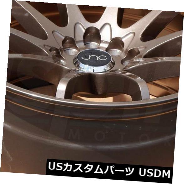 海外輸入ホイール 18x8.5ブロンズホイールJNC 006 JNC006 5x120 35(4個セット) 18x8.5 Bronze Wheels JNC 006 JNC006 5x120 35 (Set of 4)
