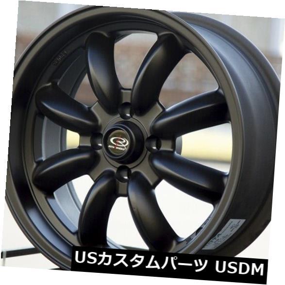 海外輸入ホイール 15x7フラットブラックホイールRota Rb 4x114.3 4 4個セット 15x7 Flat Black Wheels Rota Rb 4x114.3 4 Set of 4 快気祝 新築祝 記念品