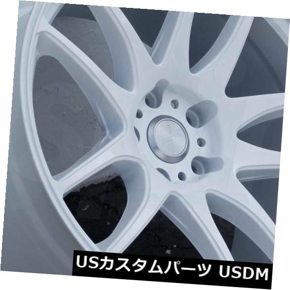 【公式ショップ】 海外輸入ホイール 30 17x8.5ホワイトホイールESR SR08 SR08 SR8 5x114.3 30(4個セット) 17x8.5 White Wheels Wheels ESR SR08 SR8 5x114.3 30 (Set of 4), エムズオートカンサイ:e218ae77 --- statwagering.com