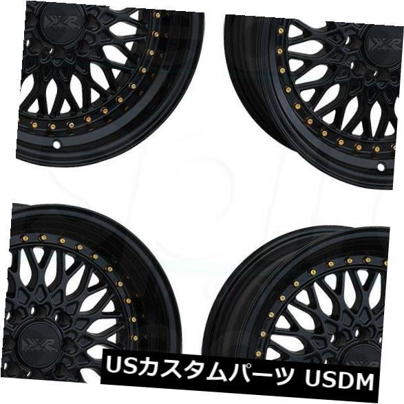 セール特価 海外輸入ホイール 536 of 15x8ブラックホイールXXR XXR 536 4x100/ 4x114.3 20(4個セット) 15x8 Black Wheels XXR 536 4x100/4x114.3 20 (Set of 4), シガムラ:452c482a --- unifiedlegend.com