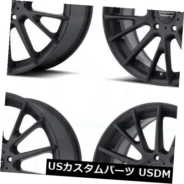 車用品 バイク用品 >> タイヤ ホイール 海外輸入ホイール 16x7サテンブラックホイールアメリカンレーシングAR904 5x115 40 4個セット <セール&特集> AR904 在庫あり 4 Black American of 16x7 Wheels Satin Racing Set